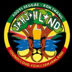 sticker Jah Jah Land